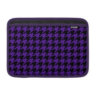 Royal Purple Houndstooth 2 MacBook Air Sleeve