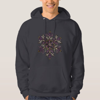 Royal Purple Snow | Customizable Hoodie