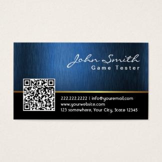 Royal QR code Game Testing Business Card