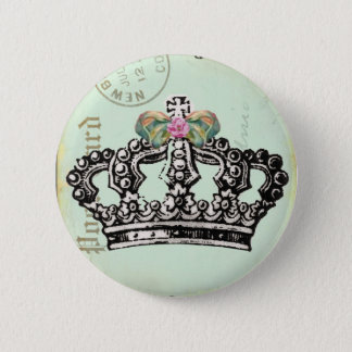 RoYaL QUeeN CRoWN 2 Inch Round Button