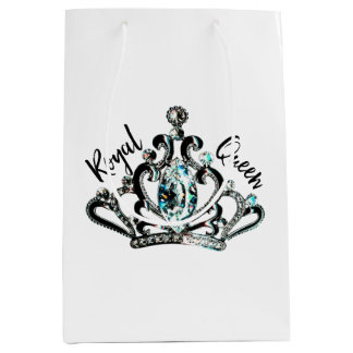 """Royal Queen"" Medium Gift Bag"