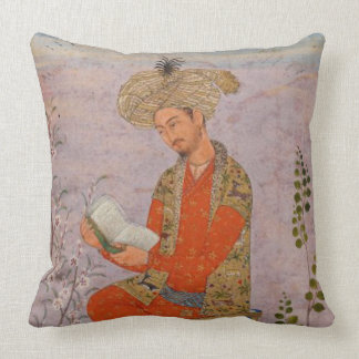 Royal Reader Throw Pillow