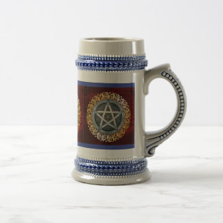 Royal Red Medieval Witchcraft Ritual Occult Alter Beer Stein
