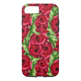 Royal Red Roses Regal Romance Crimson Lush Flowers iPhone 7 Case