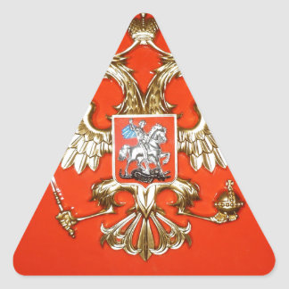 ROYAL RED TRIANGLE STICKER