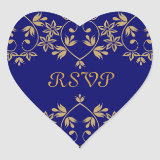 Royal RSVP Stickers