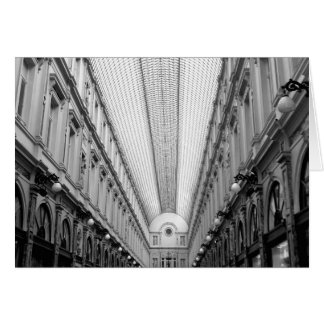 Royal Saint Hubert Galleries, Brussels, Belgium Card