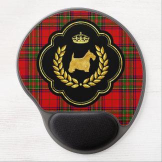 Royal Scottie Stewart Plaid Gel Mouse Pad