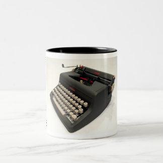 Royal Speed King typewriter Two-Tone Coffee Mug