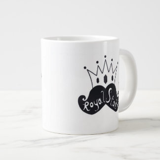 Royal Stache Jumbo Coffee Mug
