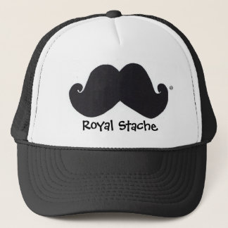 Royal Stache trucker hat