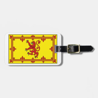 Royal Standard of Scotland Luggage Tag