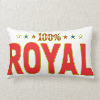 Royal Star Tag Lumbar Pillow