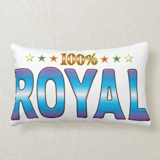 Royal Star Tag v2 Lumbar Pillow
