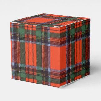 Royal Stewart clan Plaid Scottish tartan Favor Box