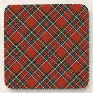 Royal Stewart Classic Red Scottish Tartan Coaster