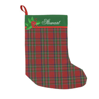 Royal Stewart Custom Christmas Stocking