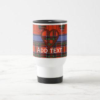 Royal Stewart Scottish tartan Travel Mug