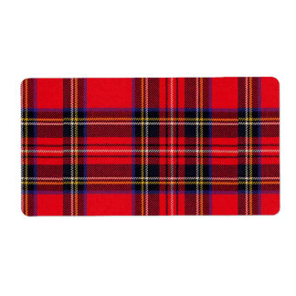 Royal Stewart Shipping Label