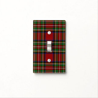 Royal Stewart Single Toggle Light Switch Cover