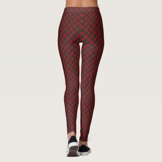 Royal Stewart/Stuart Tartan Leggings