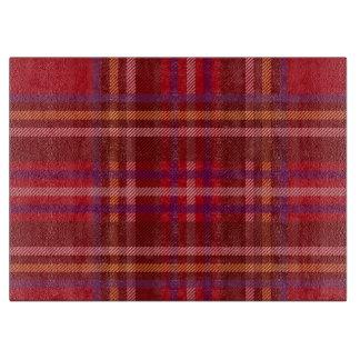 Royal Stewart Tartan Christmas Pattern Cutting Board