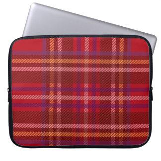 Royal Stewart Tartan Christmas Pattern Laptop Sleeve