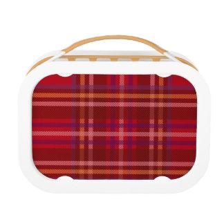 Royal Stewart Tartan Christmas Pattern Lunch Box