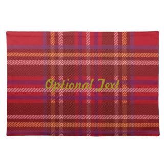 Royal Stewart Tartan Christmas Pattern Placemat