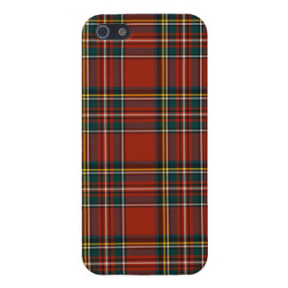 Royal Stewart Tartan Classic Red Scottish Plaid iPhone 5 Covers