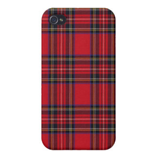 Royal Stewart Tartan iPhone 4/4S Cases