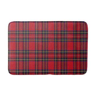 Royal Stewart tartan pattern Bath Mat
