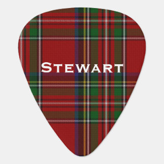 Royal Stewart Tartan Plaid Custom Guitar Pick