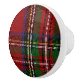 Royal Stewart Tartan Plaid Drawer Pull