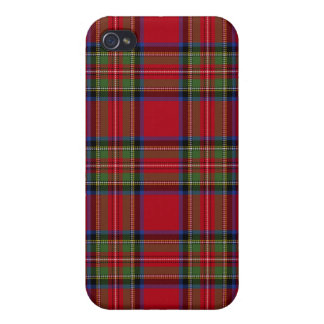 Royal Stewart Tartan Plaid Iphone4 Case Cover For iPhone 4