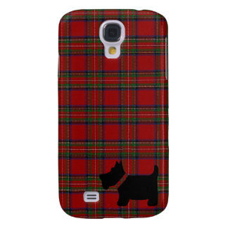 Royal Stewart Tartan Plaid Pattern and Scottie Dog