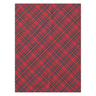 Royal Stewart Tartan Plaid Table Cloth Tablecloth