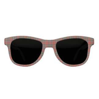 Royal Stewart Tartan Red Plaid Personalized Sunglasses