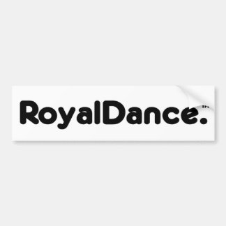 Royal Sticker Bumper Sticker