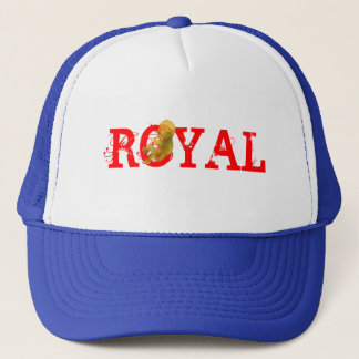 ROYAL STRAWS TRUCKER HAT