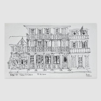 Royal Street, French Quarter | New Orleans Sticker