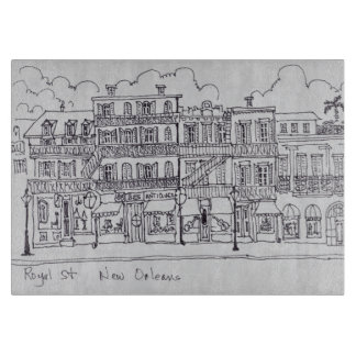 Royal Street | New Orleans, Louisiana Cutting Board