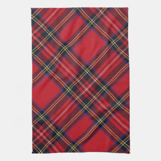 Royal Stuart Tartan Tea Towel