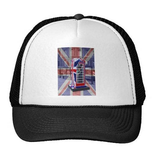 Royal telephone box mesh hat
