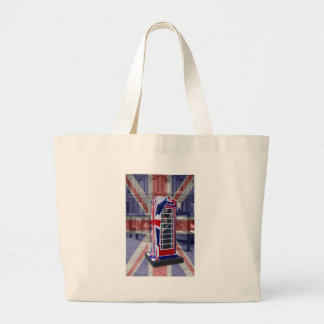 Royal telephone box jumbo tote bag