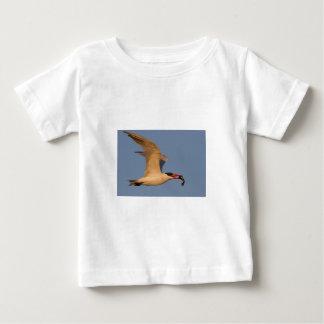 Royal Tern with Fish Baby T-Shirt