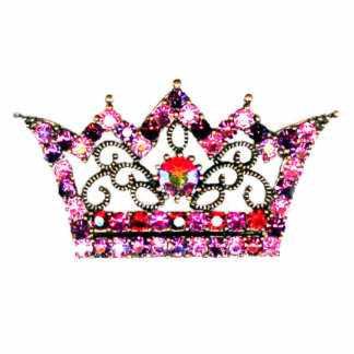 Royal Tiara sculpture - Customized Standing Photo Sculpture