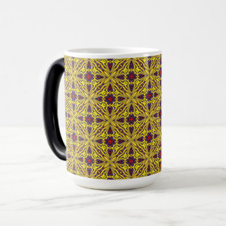 Royal Vintage Kaleidoscope   Morphing Mug