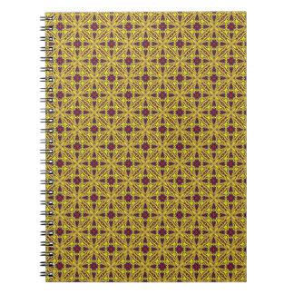 Royal   Vintage Kaleidoscope    Notebook