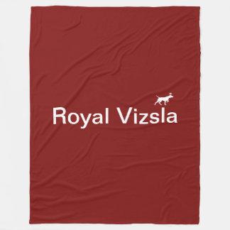 Royal Vizsla fleece large
